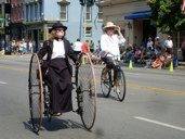 photo of Wheelmen at 2010 Great American Brass Band Festival parade