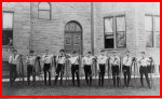 ca 1890 bicycle club in Oberlin, Ohio